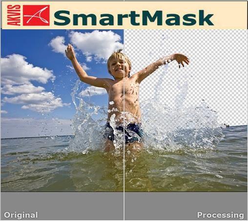 AKVIS SmartMask - самостоятельная программа и плагин для популярных графиче